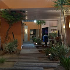 Jardines de estilo  por Folha Paisagismo, Rústico