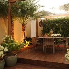 Jardines de estilo  por Folha Paisagismo