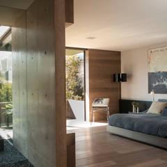 Dormitorios de estilo  de Gantous Arquitectos, Moderno