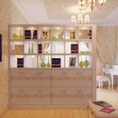 اتاق نشیمن توسطСтудия дизайна интерьера Маши Марченко, اکلکتیک (ادغامی)