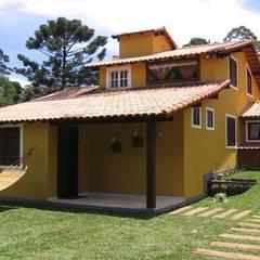 Casas de estilo  por Cadore Arquitetura, Rústico