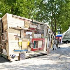 Installationen / außen:  Veranstaltungsorte von Studio für Architektur Bernd Vordermeier