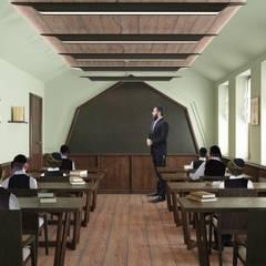 Еврейский культурный центр: Школы и учебные заведения  в . Автор – Line In Design, Эклектичный