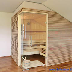 Mass-Sauna:  Spa von Saunabau-Passau