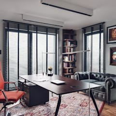 eclectic Study/office by Studio Potorska
