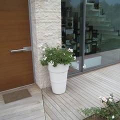 GIARDINO PER UNA VILLA MODERNA: Giardino in stile in stile Moderno di GIARDINI VALLE DEI FIORI