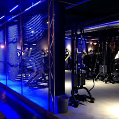 Gym by Romano Baratta Lighting Studio