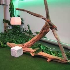 Giardino & Hortus d'inverno - Lighting and Greening: Giardino d'inverno in stile  di Romano Baratta Lighting Studio