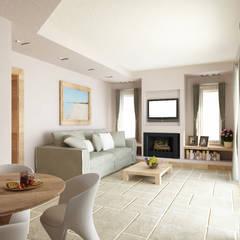 Living room by De Vivo Home Design