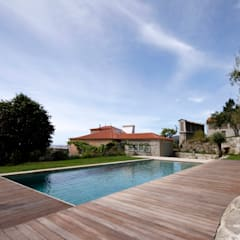 rustic Pool by Branco Cavaleiro architects
