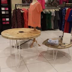Display Tables in House of Fraser, Oxford Street store:  Terrace by Frances Bradley