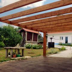 Moradia Junqueira: Terraços  por EVA | evolutionary architecture