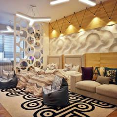 Детская комната для близнецов: Детские комнаты в . Автор – Sweet Home Design,