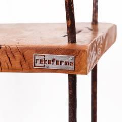 Krzesło Stalowe Pręty od Rekoforma Industrialny