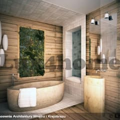 Bathroom ideas - Beige Pebbles mosaic manufacturer / producer & Exporter:  Bathroom by Lux4home™ Indonesia