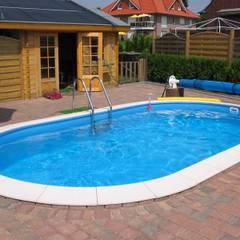 Stahlwandbecken Toscana:  Pool von hobby pool technologies GmbH