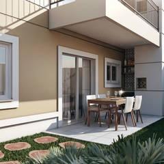 Terrace by Lodo Barana Arquitetura e Interiores