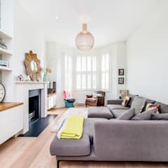 Balham, SW12:  Living room by CATO creative