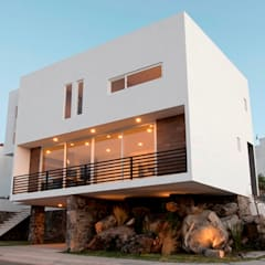 Casa Pitahayas 87, Zibatá, El Marqués, Querétaro: Casas de estilo  por JF ARQUITECTOS