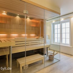 Spa de estilo  por Immofoto-Sylt