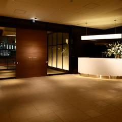 Reception : WORKTECHT CORPORATIONが手掛けた和室です。,モダン