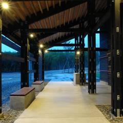 橋立自然公園管理棟: BANKnoteが手掛けた会議・展示施設です。