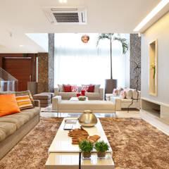 Sala de Estar: Salas de estar modernas por Arquitetura e Interior