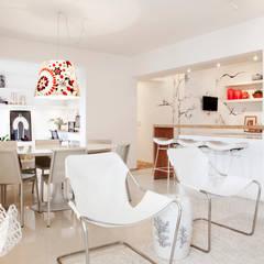 Mediterranean style dining room by Helô Marques Associados Mediterranean