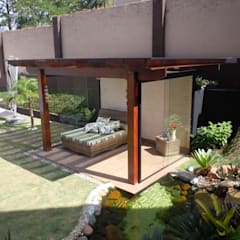 Terras door Flávia Brandão - arquitetura, interiores e obras