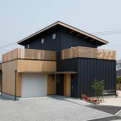 外観 モダンな 家 の 有限会社クリエデザイン/CRÉER DESIGN Ltd. モダン