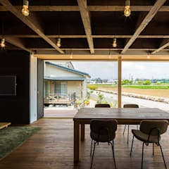غرفة السفرة تنفيذ murase mitsuru atelier