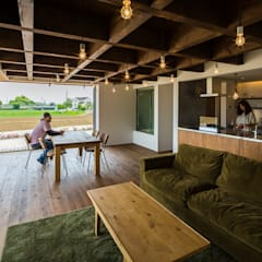 غرفة المعيشة تنفيذ murase mitsuru atelier