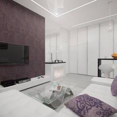 2-х комнатная квартира в Москве Коридор, прихожая и лестница в скандинавском стиле от Rustem Urazmetov Скандинавский