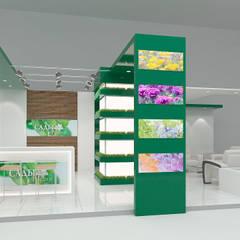 Выставочный павильон Сады России: Галереи  в . Автор – Rustem Urazmetov