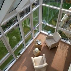 Harmonie in Form, Farbe, Funktion und Proportionen:  Wintergarten von Haacke Haus GmbH Co. KG