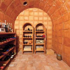 mediterranean Wine cellar by Haacke Haus GmbH Co. KG