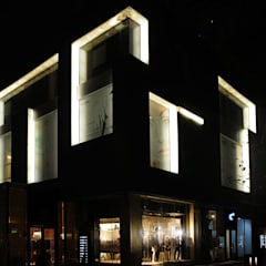 Faux Alabaster Projects Across China:  Offices & stores by ShellShock Designs