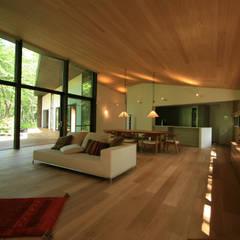 Walls by 株式会社sum design, Modern