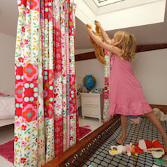 hoogslaper in de kap:  Kinderkamer door Studio evo, Modern