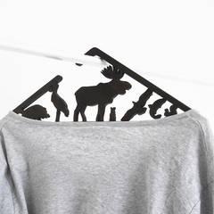 Design clothes hangers – WORLDORAMA   (7er Set):  Ladenflächen von muskat18