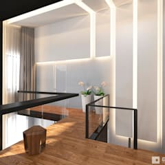 Интерьер дома в современном стиле : Коридор и прихожая в . Автор – GM-interior