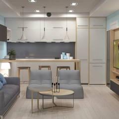 Media room by AG INTERIORISMO, Scandinavian
