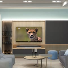 Media room by AG INTERIORISMO