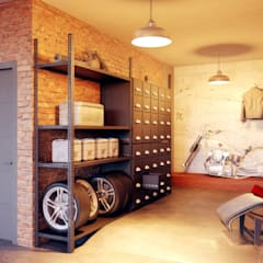 eclectic Garage/shed by Барнаш