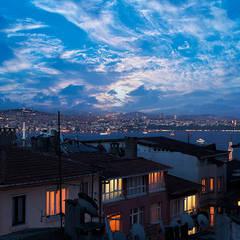 Milimetrik Mimarlık – Beyoğlu Aparts, Kumbaracı, İstanbul:  tarz Oteller