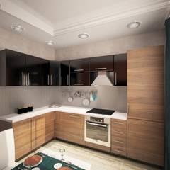 2-х комнатная квартира 54.42m²: Кухни в . Автор – PLANiUM