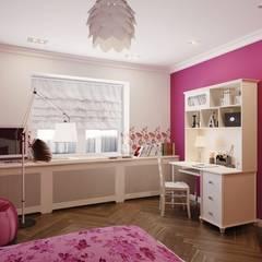 2-х комнатная квартира 81.17m²: Детские комнаты в . Автор – PLANiUM