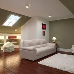 Dormitorios infantiles de estilo  por GM-interior