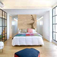 Vivienda en Benicassim. Valencia: Dormitorios de estilo  de Egue y Seta