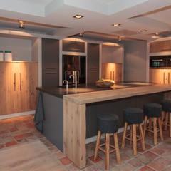 Combinatie:  Keuken door Thijs van de Wouw keuken- en interieurbouw